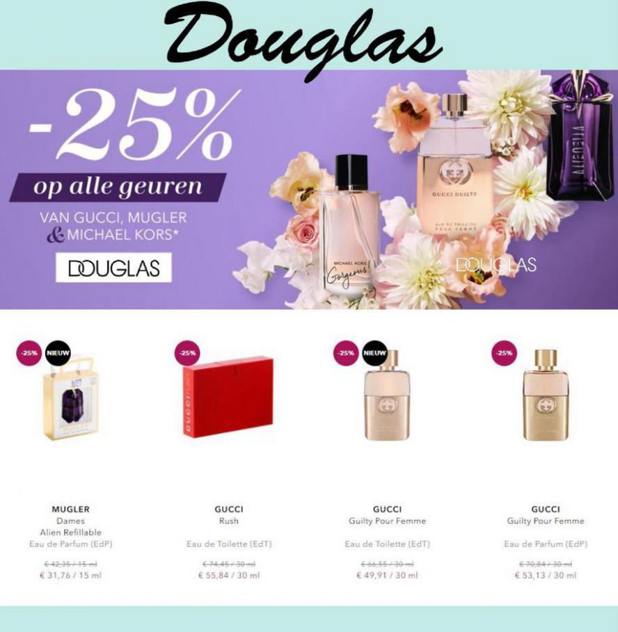 -25% op alle geuren . Douglas (2021-03-10-2021-03-10)