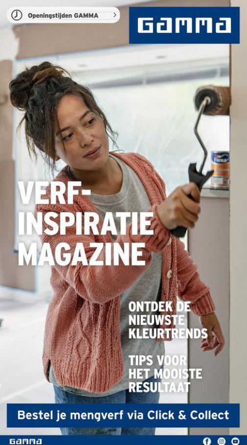 Verf- Inspiratie magazine . Gamma (2021-04-15-2021-04-15)