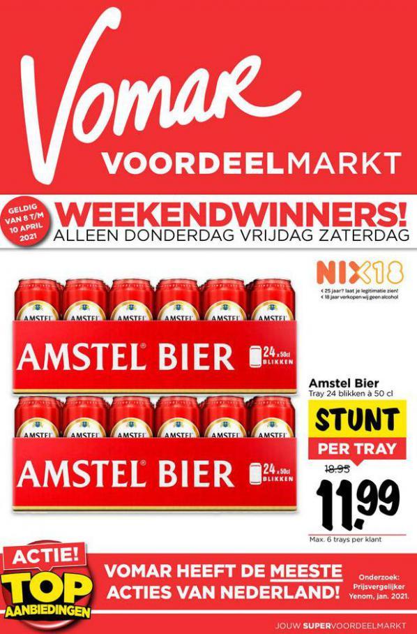 Weekend folder . Vomar (2021-04-10-2021-04-10)