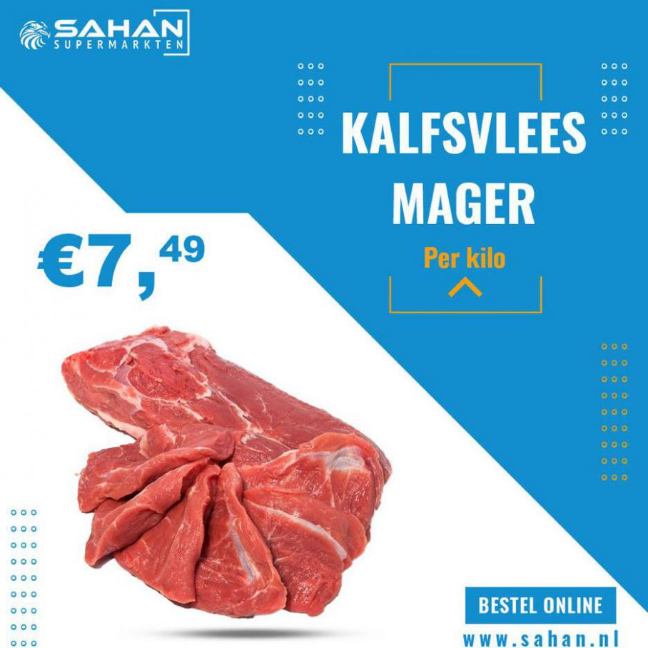 Voor maar €7,49 per kilo . Sahan Supermarkten (2021-04-06-2021-04-06)