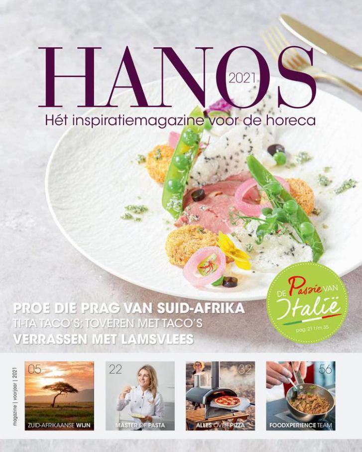 Inspiratiemagazine Voorjaar 2021 . HANOS (2021-04-08-2021-04-08)