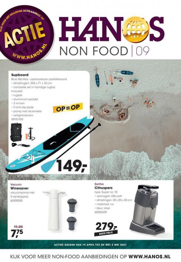 HANOS Courant 9 Non-food . HANOS (2021-05-02-2021-05-02)