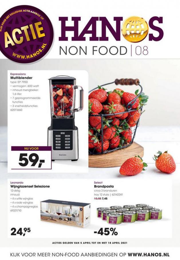 HANOS Courant 8 Non-food . HANOS (2021-04-18-2021-04-18)