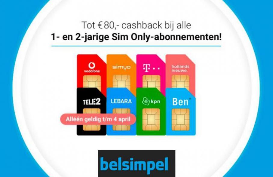 Acties . Belsimpel (2021-04-11-2021-04-11)