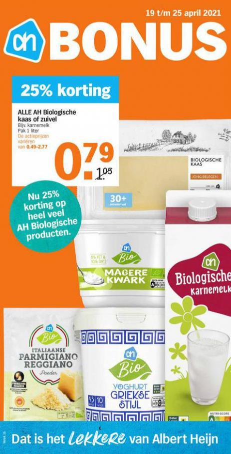 Bonus week 16 . Albert Heijn (2021-04-25-2021-04-25)