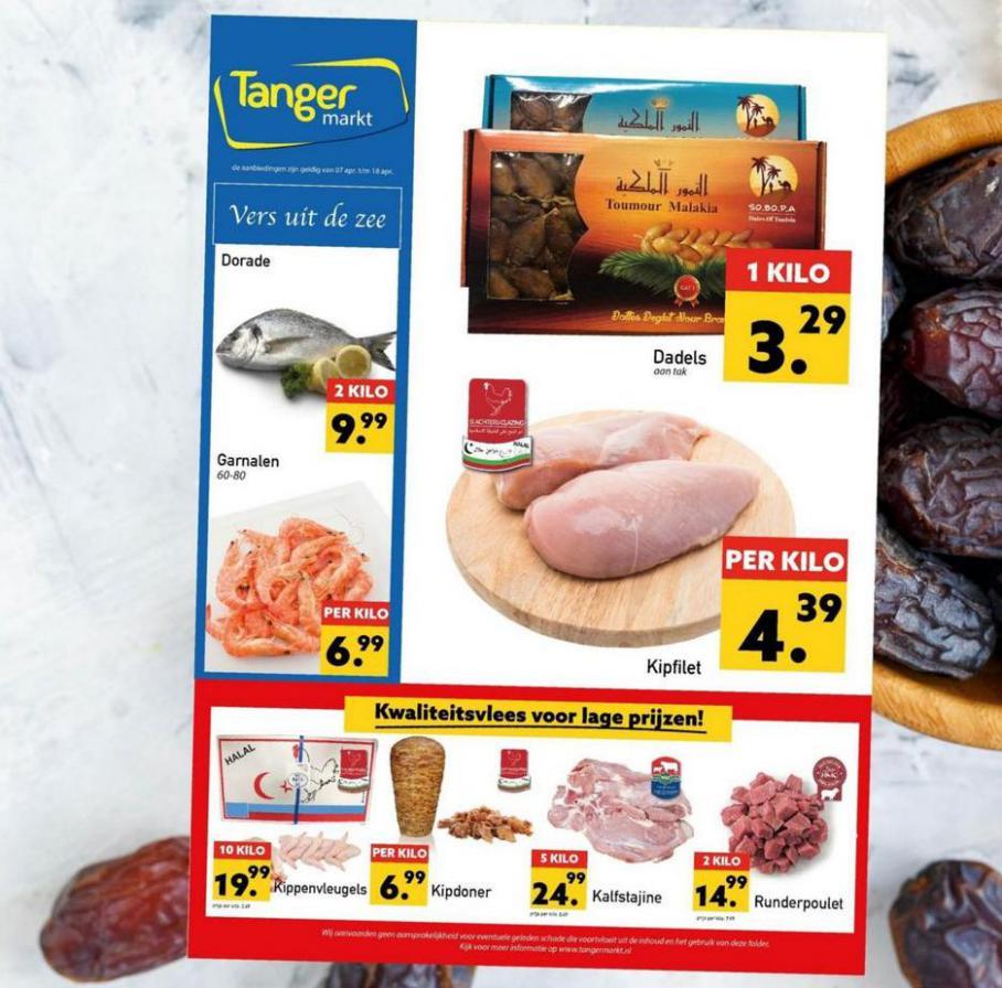 Aanbiedingen Folder . Tanger Markt (2021-04-18-2021-04-18)