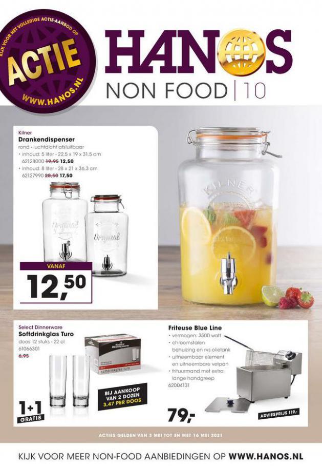 HANOS Courant 10 Non-food . HANOS (2021-05-16-2021-05-16)