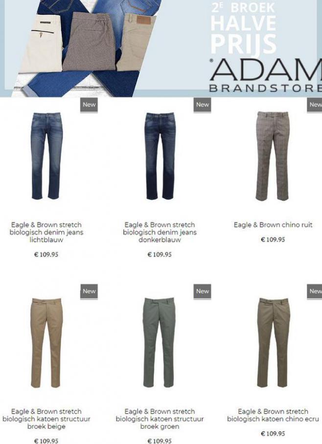 2º broek halve prijs . Adam Brandstore (2021-05-27-2021-05-27)
