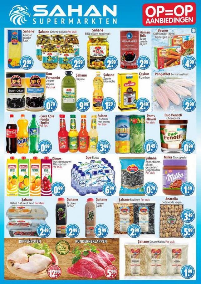 Aanbiedingen Folder . Sahan Supermarkten (2021-06-13-2021-06-13)