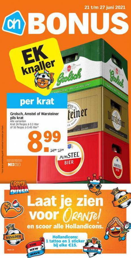 Bonus week 25. Albert Heijn (2021-06-27-2021-06-27)