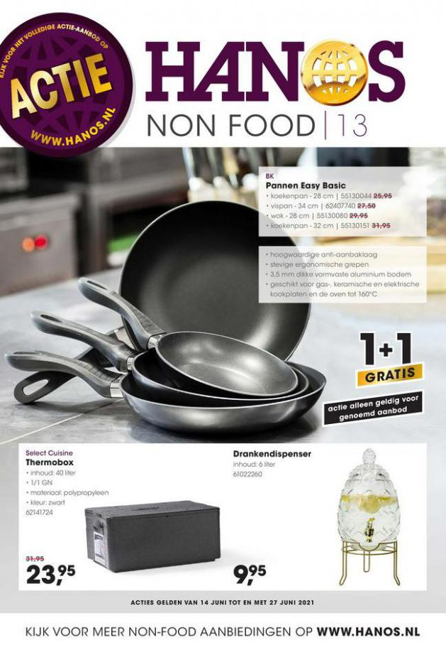 HANOS Courant 13 Non-food. HANOS (2021-06-27-2021-06-27)