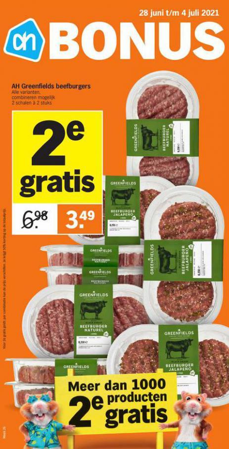 Bonus week 26. Albert Heijn (2021-07-04-2021-07-04)