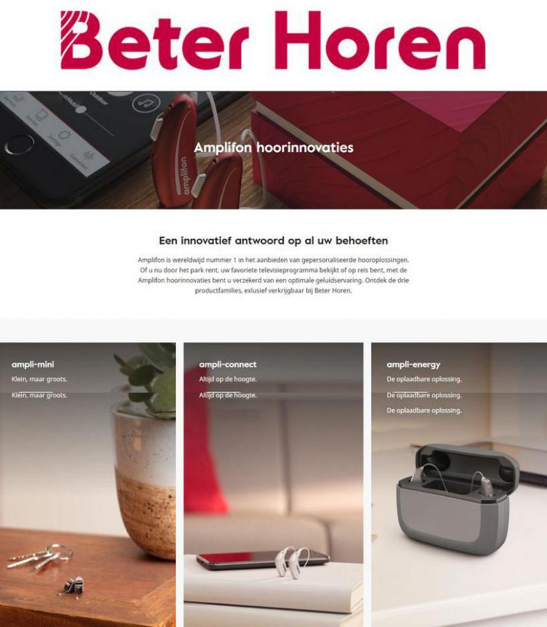 Aanbiedingen . Beter Horen (2021-06-30-2021-06-30)