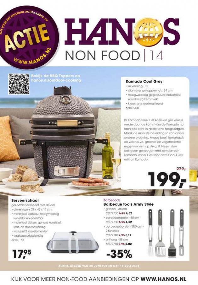 HANOS Courant 14 Non-food. HANOS (2021-07-11-2021-07-11)