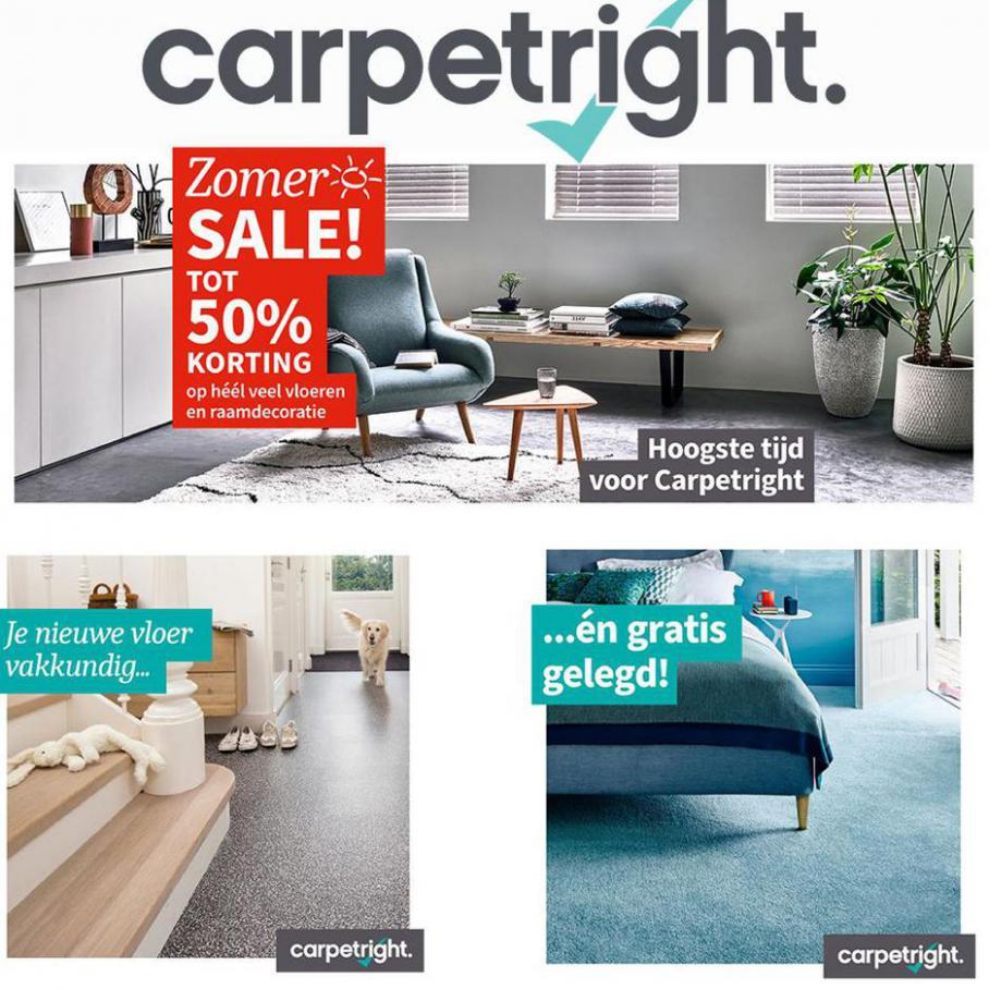 ZOMER SALE MET TOT 50% KORTING. Carpetright (2021-07-10-2021-07-10)