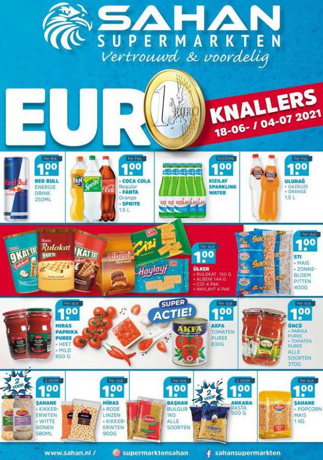 Aanbiedingen Folder. Sahan Supermarkten (2021-07-04-2021-07-04)