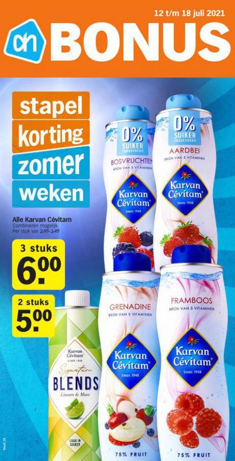 Bonus week 28. Albert Heijn (2021-07-18-2021-07-18)