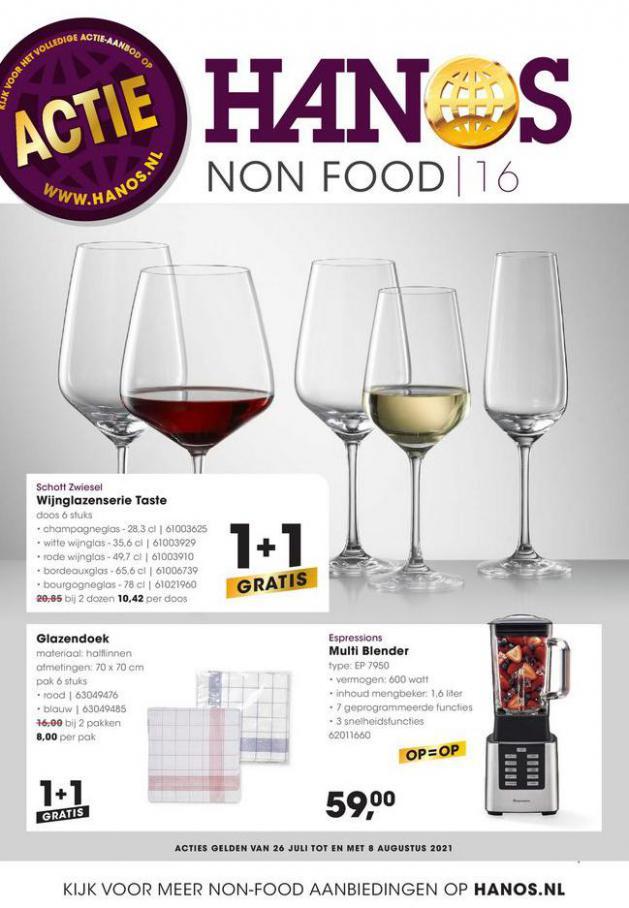 HANOS Courant 16 Non-food. HANOS (2021-08-08-2021-08-08)