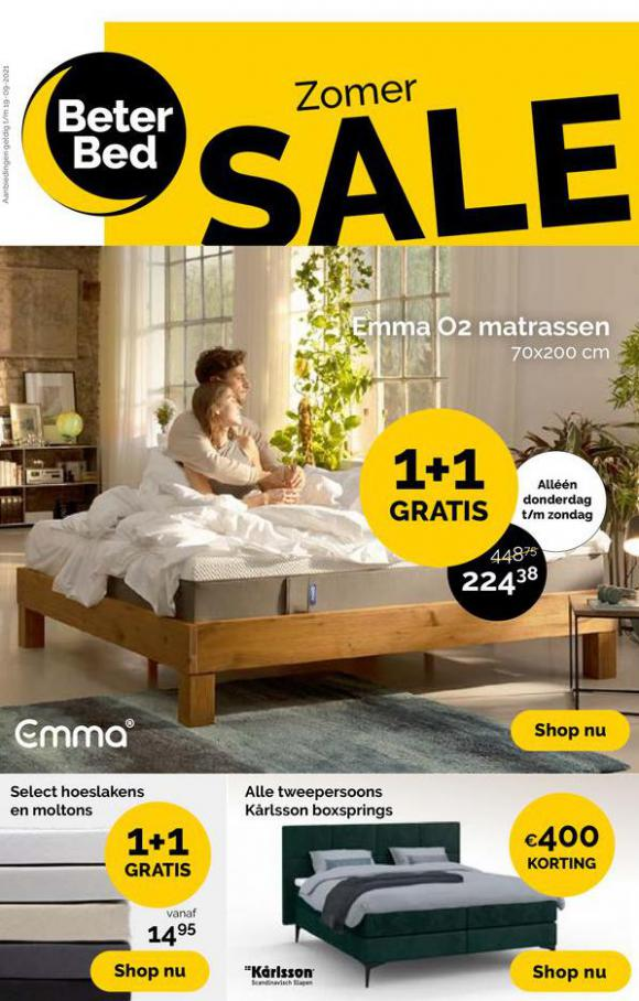 Zomer Sale. Beter Bed (2021-09-19-2021-09-19)