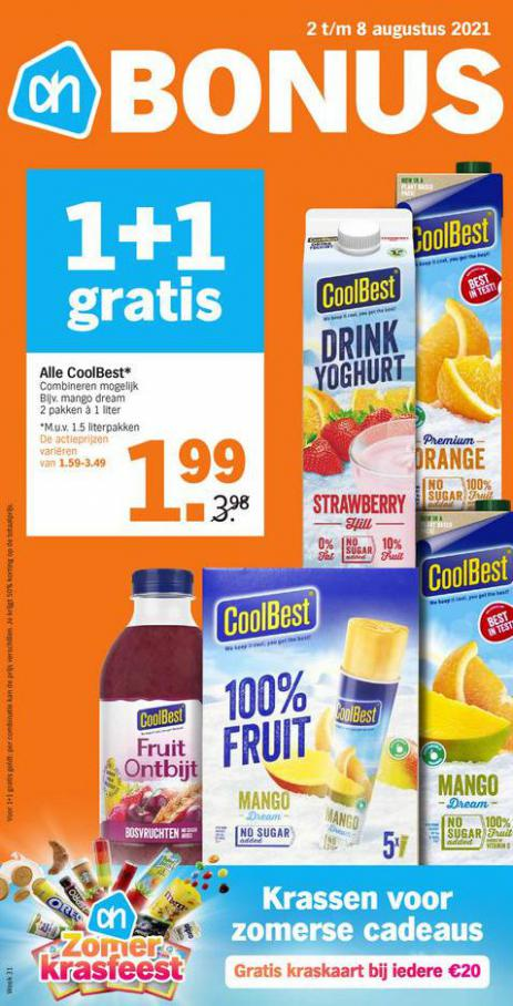 Bonus week 31. Albert Heijn (2021-08-08-2021-08-08)