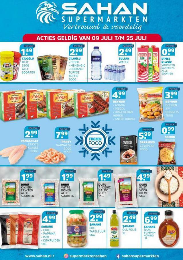 Aanbiedingen Folder. Sahan Supermarkten (2021-07-25-2021-07-25)