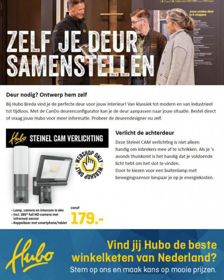 Stel bij Hubo Breda jouw eigen deur samen. Hubo (2021-07-25-2021-07-25)