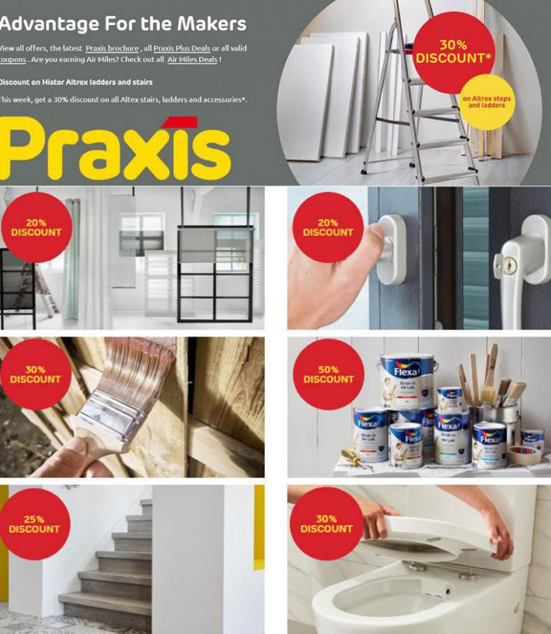 Advantage For The Makers. Praxis (2021-07-11-2021-07-11)