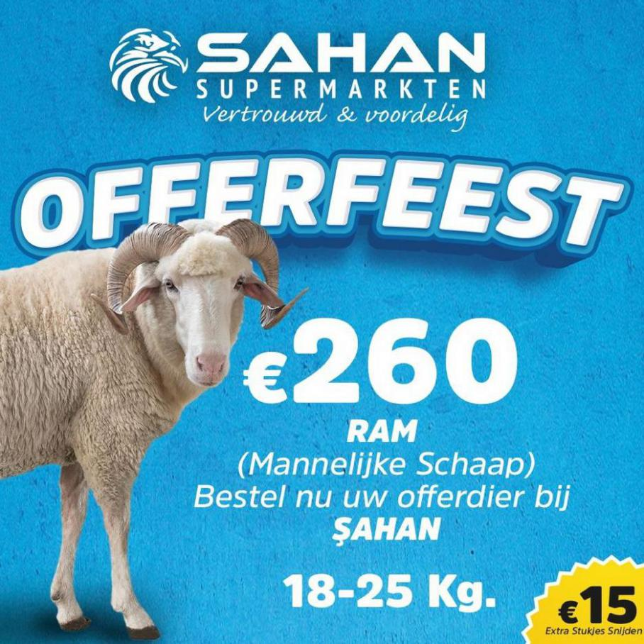 Offerfeest. Sahan Supermarkten (2021-07-11-2021-07-11)