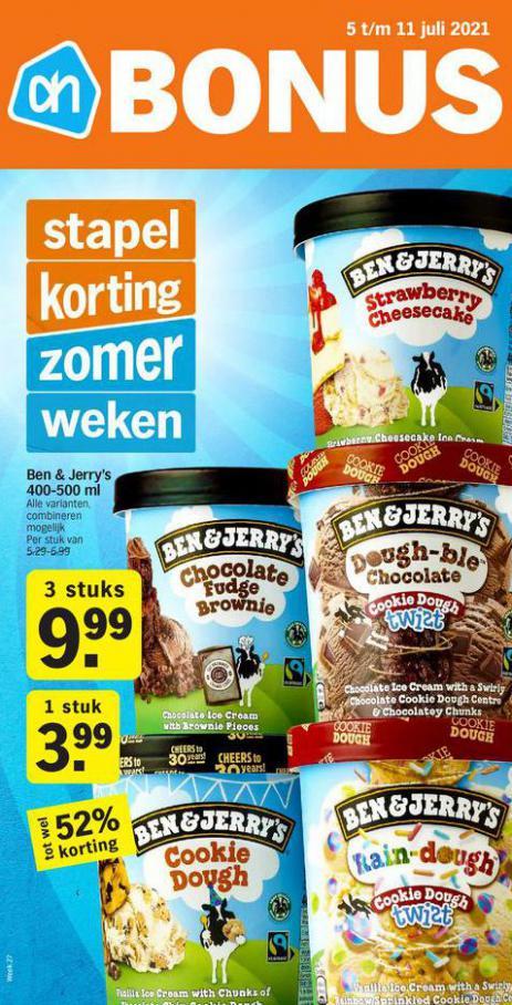 Bonus week 27. Albert Heijn (2021-07-11-2021-07-11)