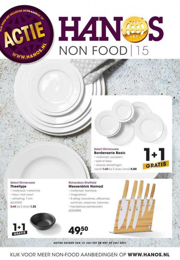 HANOS Courant 15 Non-food. HANOS (2021-07-25-2021-07-25)