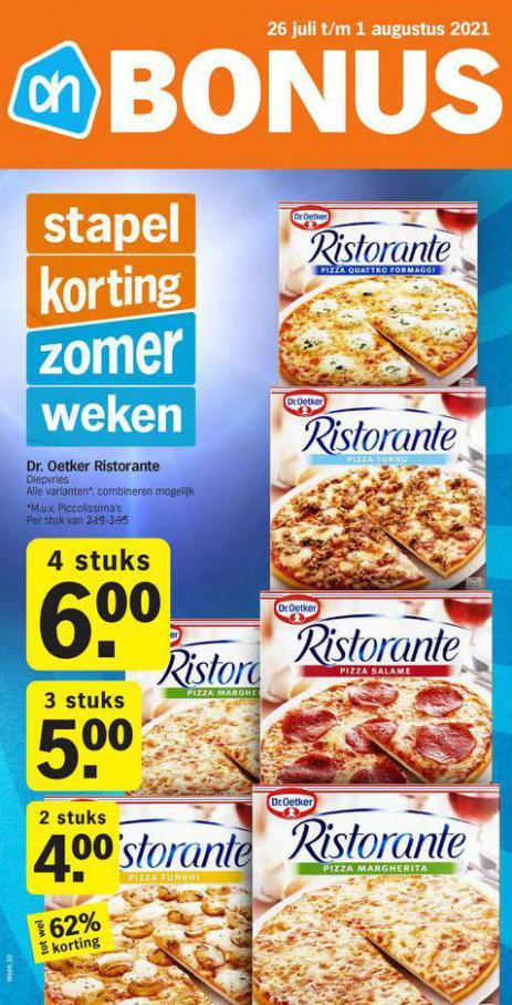 Bonus week 30. Albert Heijn (2021-08-01-2021-08-01)