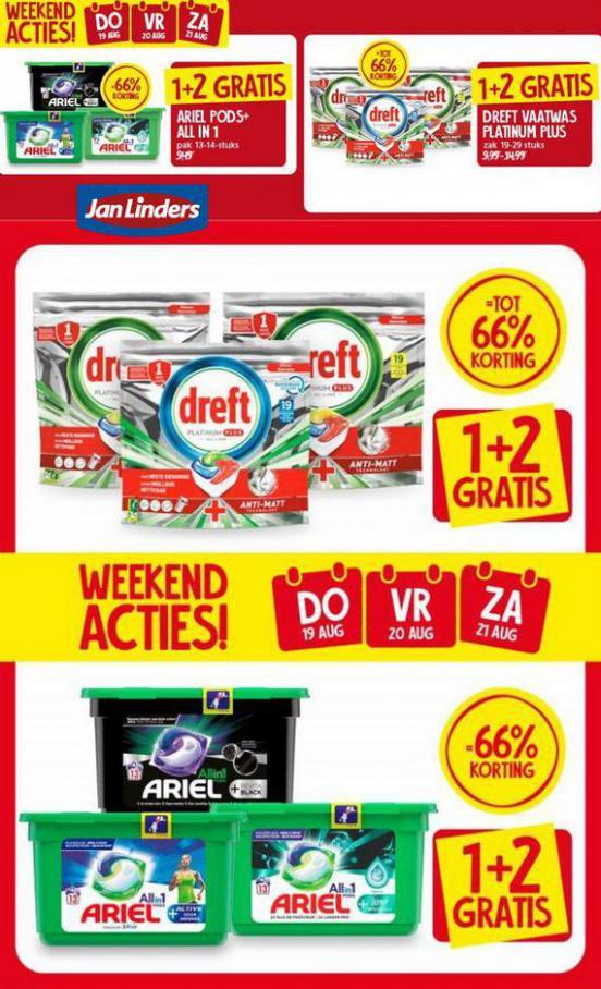 Weekend Acties. Jan Linders (2021-08-21-2021-08-21)
