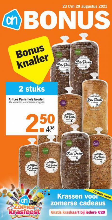 Bonus week 34. Albert Heijn (2021-08-29-2021-08-29)