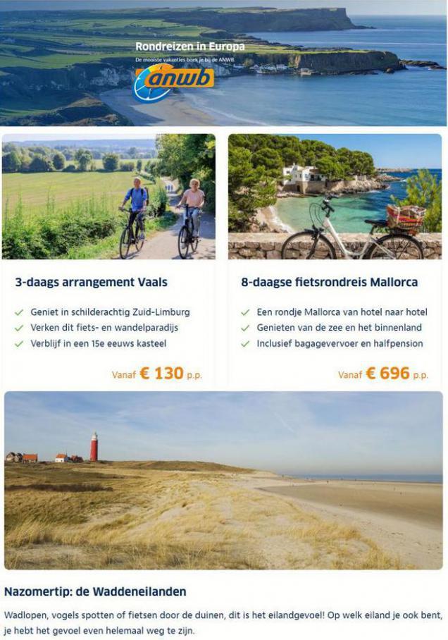 Fietsvakanties in Limburg en Mallorca. ANWB (2021-08-22-2021-08-22)
