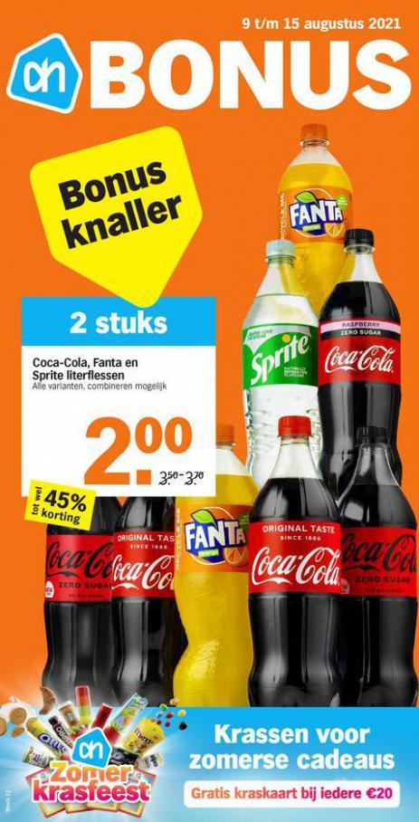 Bonus week 32. Albert Heijn (2021-08-15-2021-08-15)