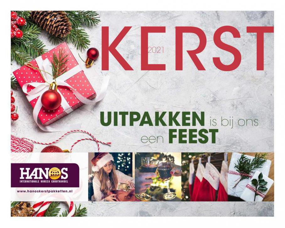 Kerstpakketten brochure 2021. HANOS (2021-12-31-2021-12-31)