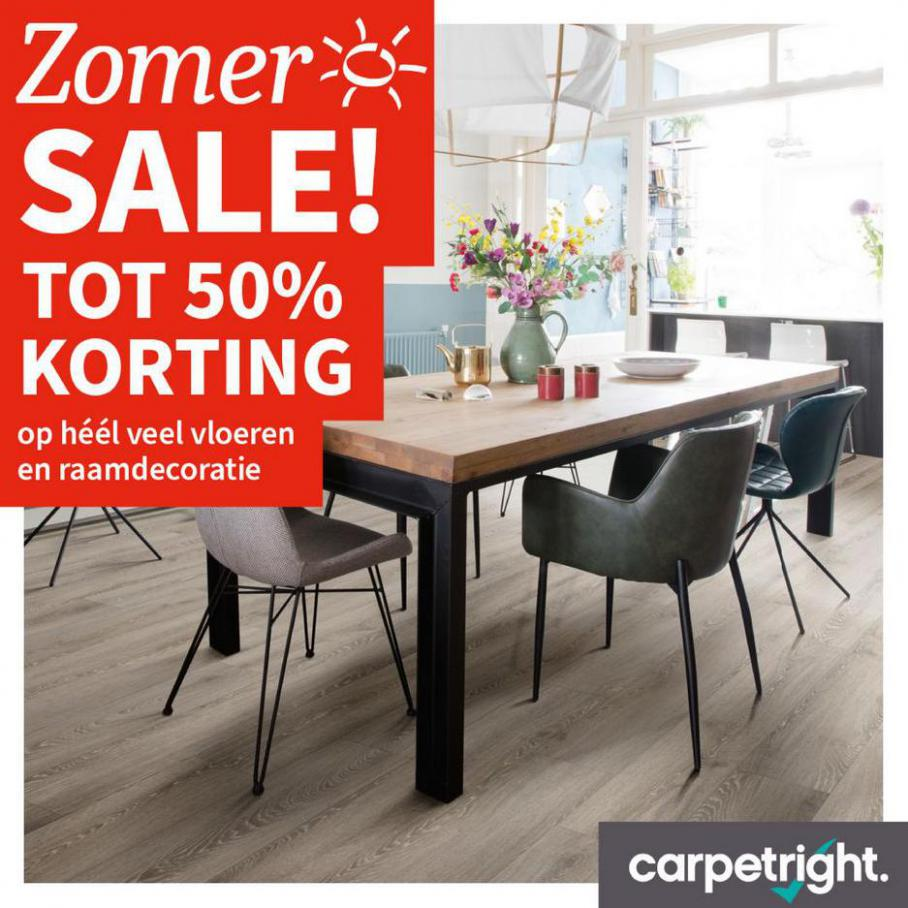Somer Sale! Tot 50% korting. Carpetright (2021-08-26-2021-08-26)