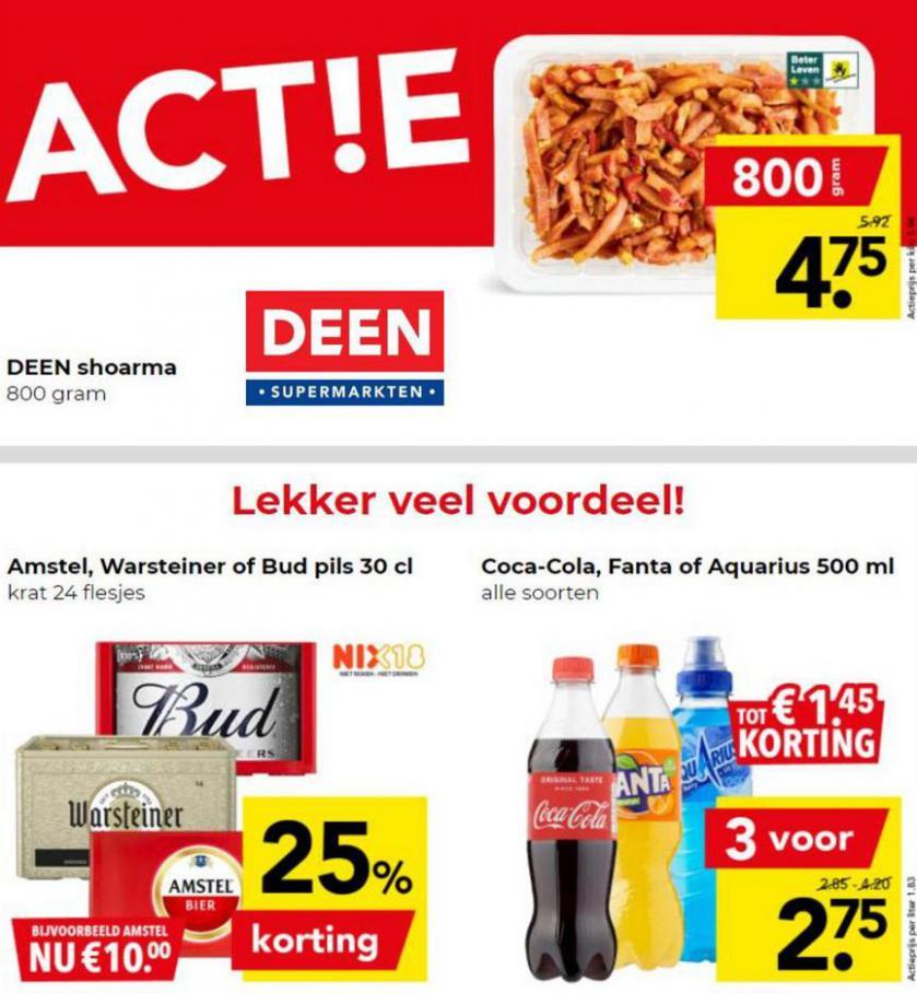 Weekendacties. Deen (2021-08-22-2021-08-22)