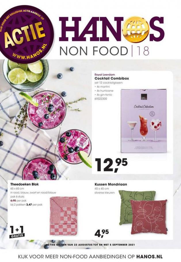 HANOS Courant 18 Non-food. HANOS (2021-09-05-2021-09-05)