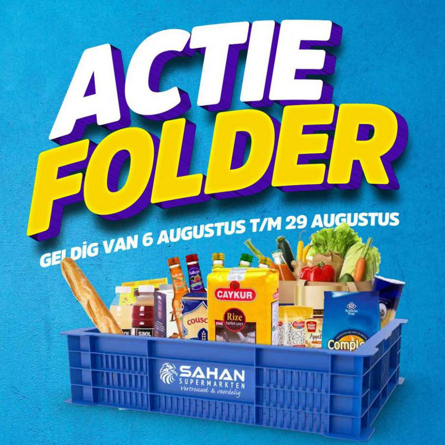 Actie Folder. Sahan Supermarkten (2021-08-29-2021-08-29)