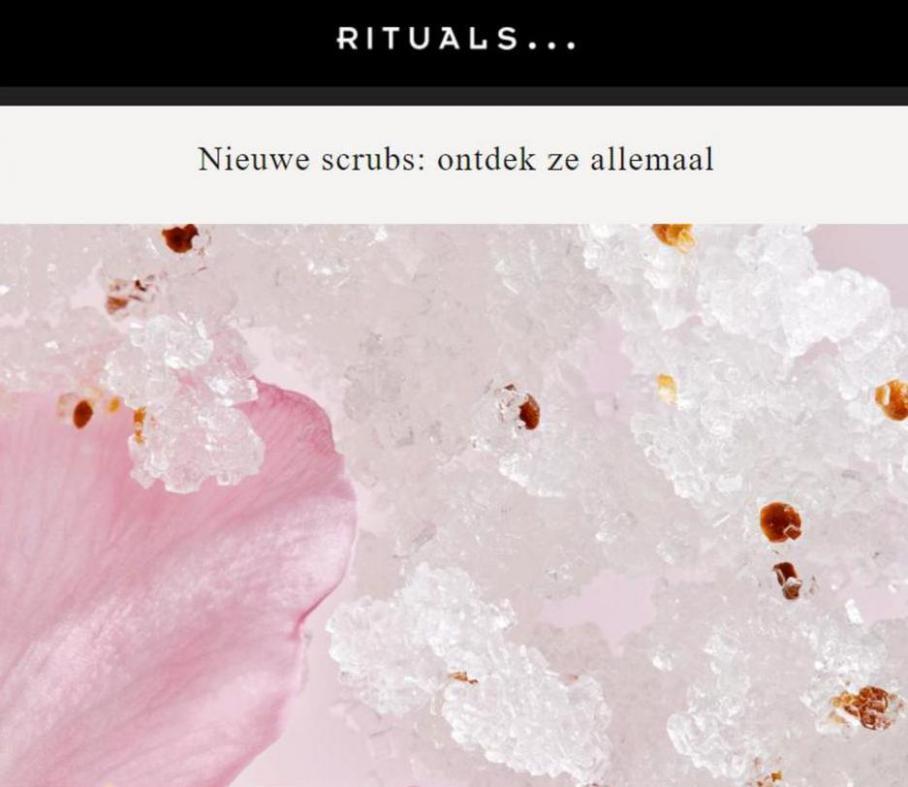 Nieuwe scrubs: ontdek ze allemaal. Rituals (2021-08-15-2021-08-15)
