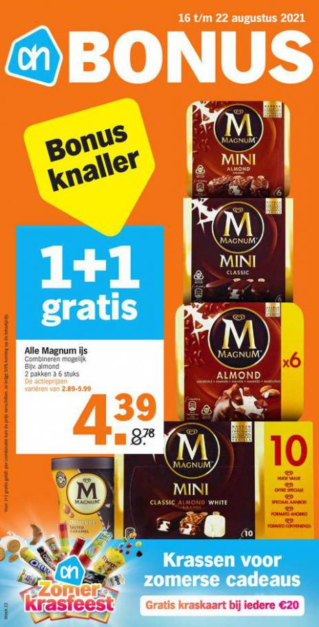 Bonus week 33. Albert Heijn (2021-08-22-2021-08-22)