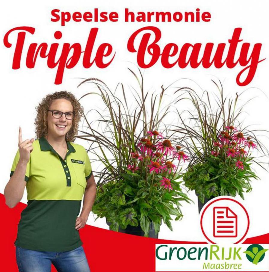 Speelse harmonie: Triple Beauty. GroenRijk (2021-08-22-2021-08-22)