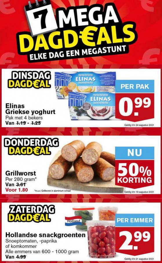 Mega DagDeals. Hoogvliet (2021-08-24-2021-08-24)