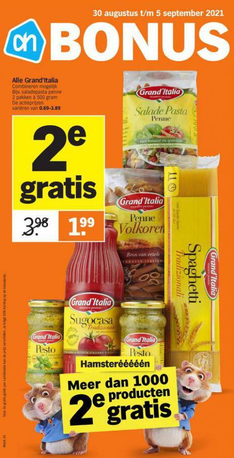 Bonus week 35. Albert Heijn (2021-09-05-2021-09-05)