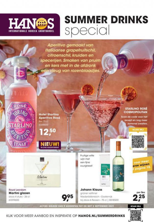 Summer drinks special 2021. HANOS (2021-09-05-2021-09-05)