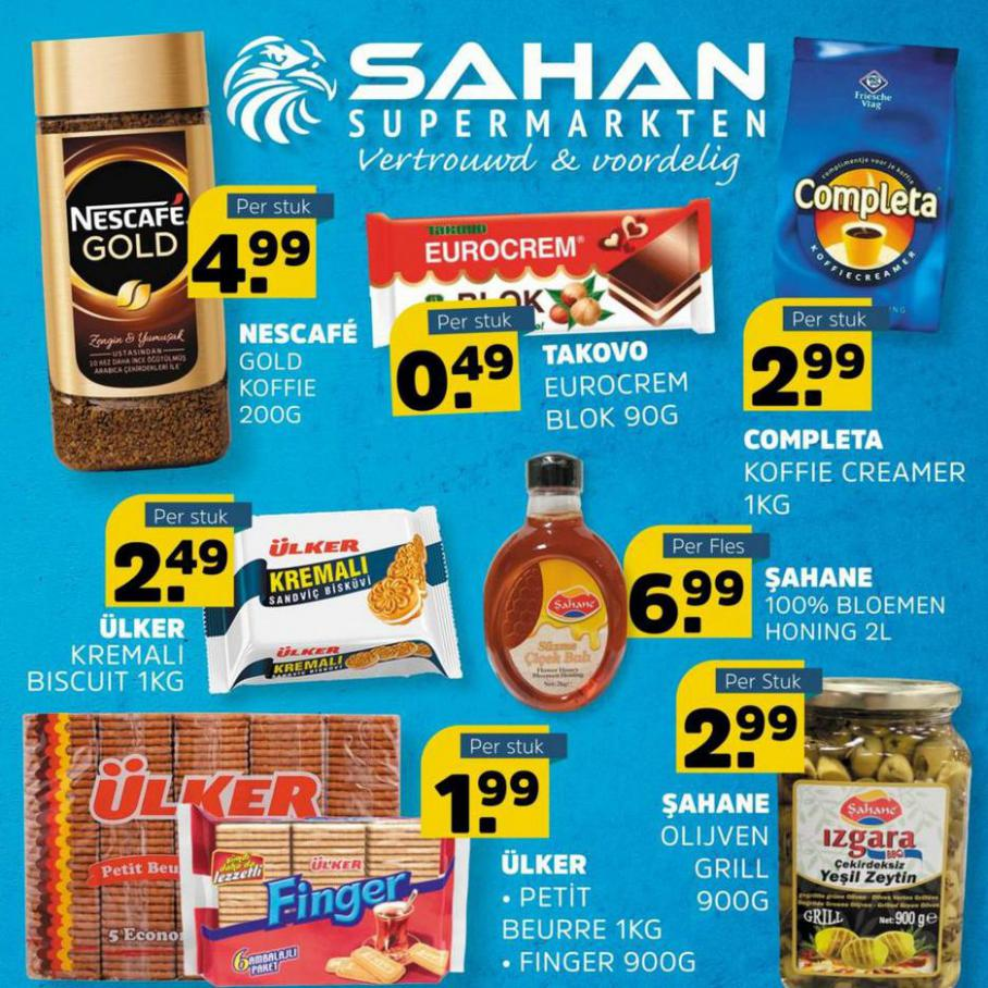 Aanbiedingen. Sahan Supermarkten (2021-08-08-2021-08-08)