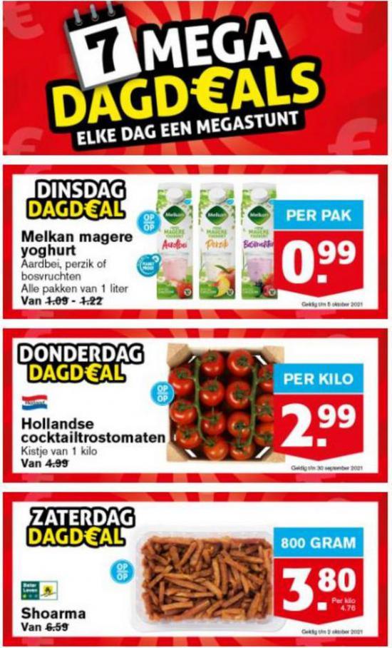 7 Mega DagDeals. Hoogvliet (2021-09-19-2021-09-19)