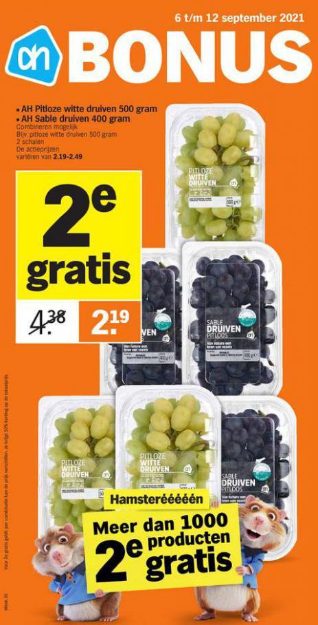 Bonus week 36. Albert Heijn (2021-09-12-2021-09-12)