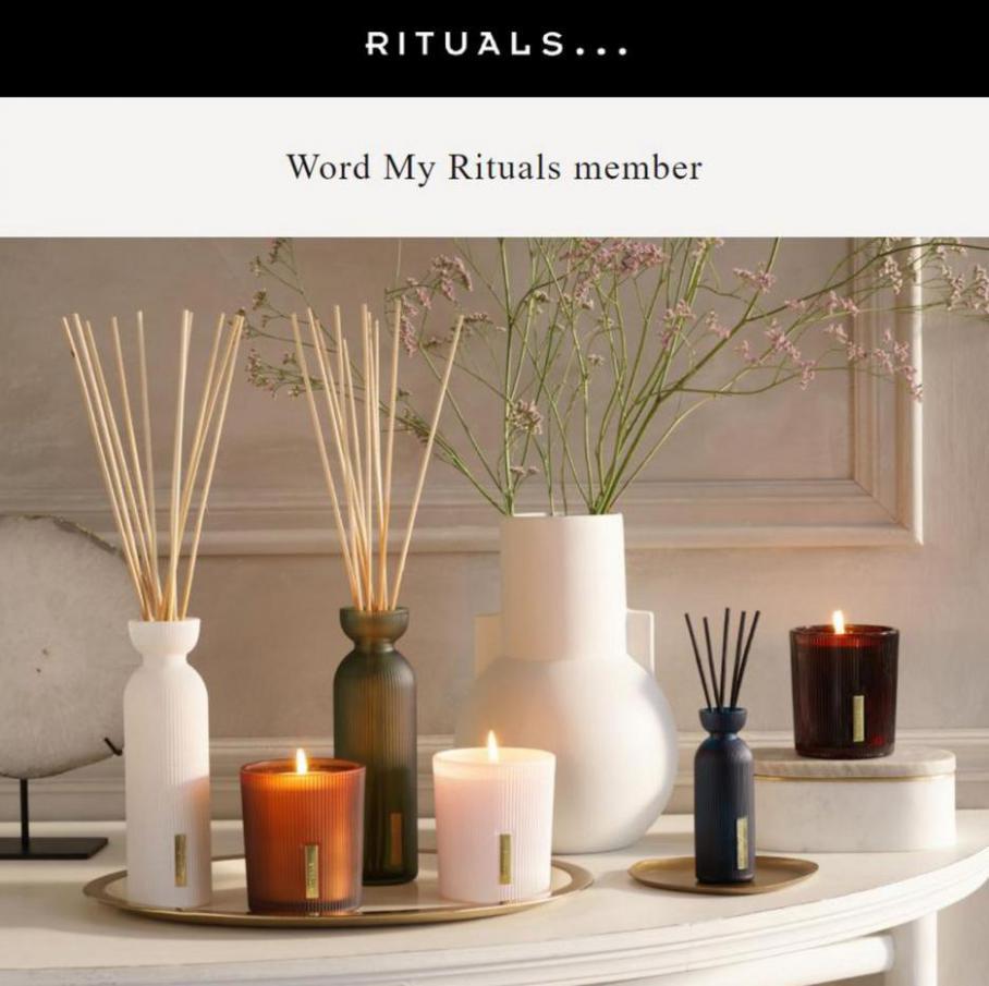 Word My Rituals member en vier mee. Rituals (2021-09-12-2021-09-12)
